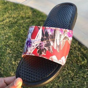 Nike Shoes - NIKE BENASSI Floral Women's Slides Sandals Various